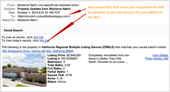 emailed properties